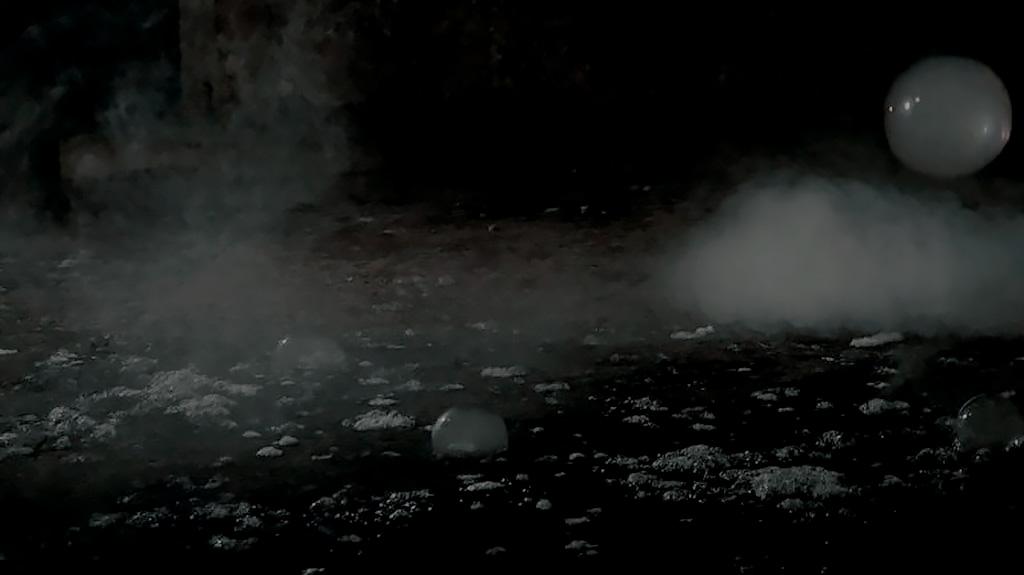 Videostill The Last Waltz II uit Homo Bulla van Inge Reisberman
